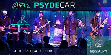Psydecar [Soul+ Reggae+ Funk] at Ebullition Brew Works tickets