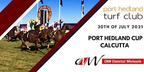 Port Hedland Turf Club - TAMS Port Hedland Cup - CNW Calcutta tickets
