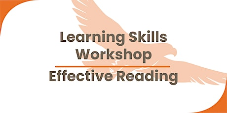 Learning Skills Workshop - Effective Reading tickets