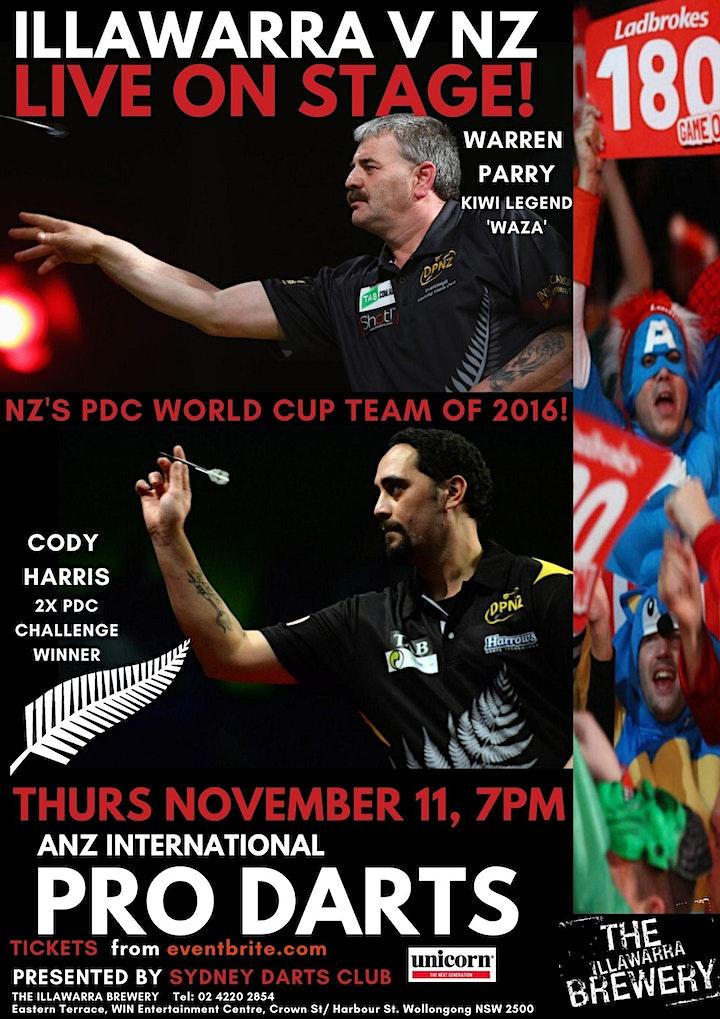ANZ International Darts Tour Wollongong image