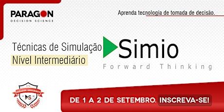 Treinamento Online:Técnicas de Simulação Intermediário Simio-01 a 02 de Set ingressos