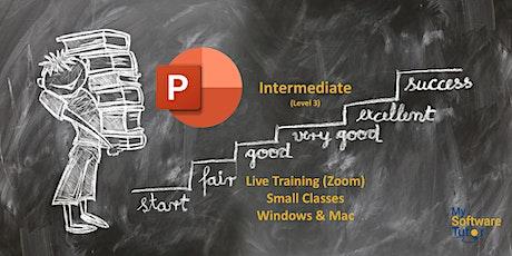 PowerPoint Intermediate Live tickets