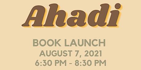 Ahadi - Book Launch tickets
