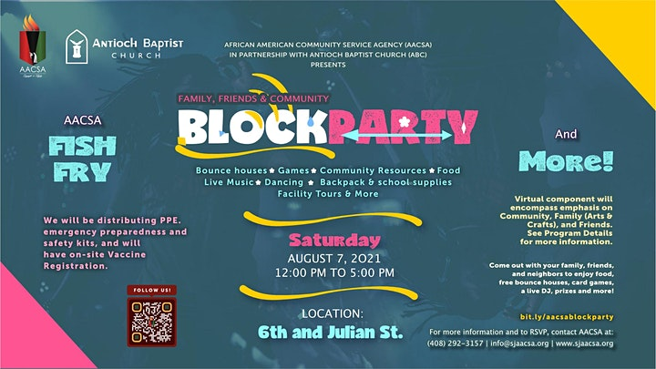 AACSA Block Party & Pack-a-Back Giveaway 2021 image
