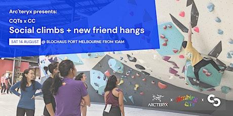 Arc'teryx presents: ClimbingQTs x Colourful Climbers tickets
