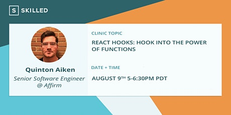 React Hooks: Hook Into the Power of Functions entradas