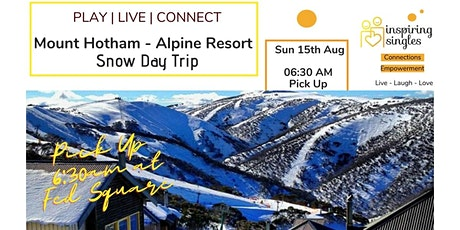 Melbourne's Mount Hotham - Snow Day Trip | Play - Live - Connect tickets