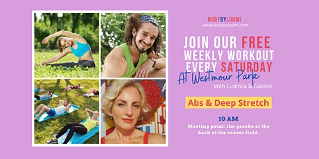 Abs & Deep Stretch FREE Workout in Westmount Park tickets