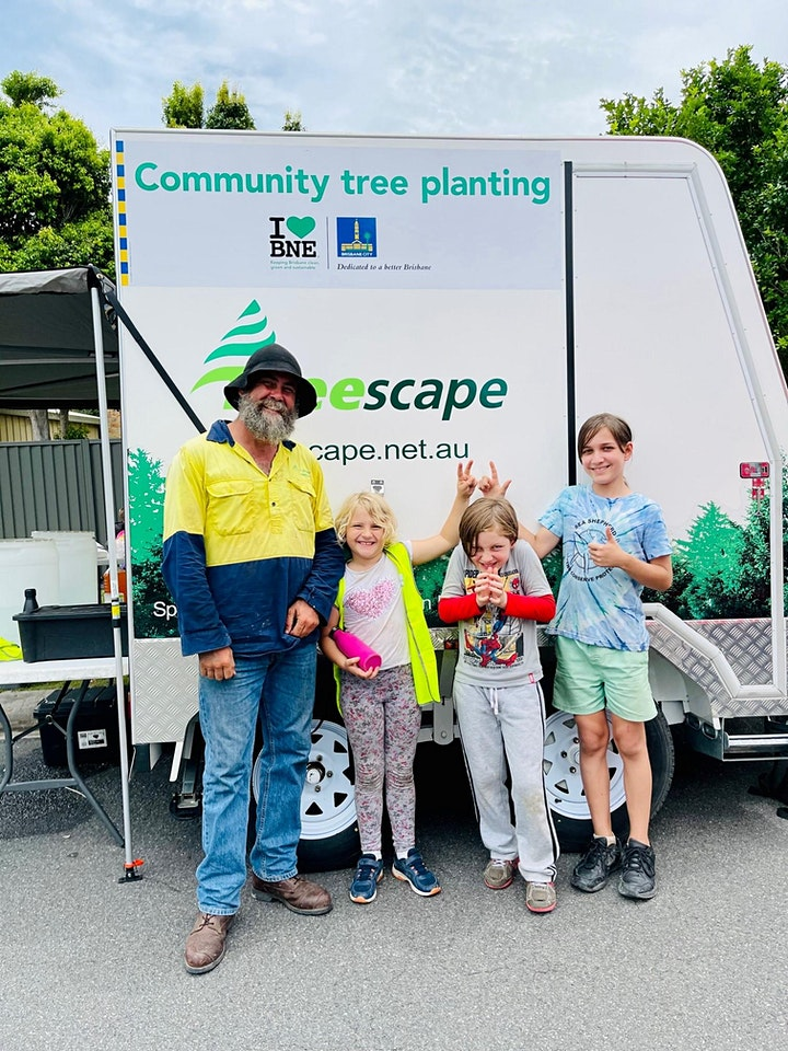 Inala - Brisbane City Council Community Street Tree Planting image