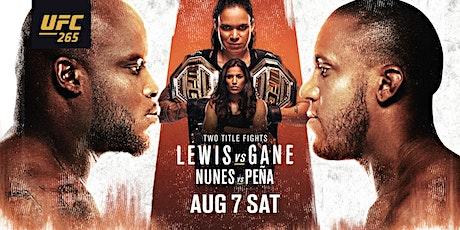 UFC 265 LEWIS vs GANE tickets