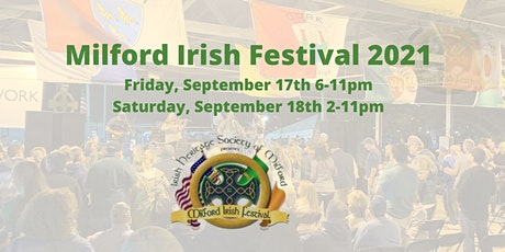 Milford Irish Festival 2021 tickets