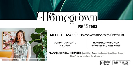 Meet the Makers: In conversation with Britt's List at BFM Homegrown tickets