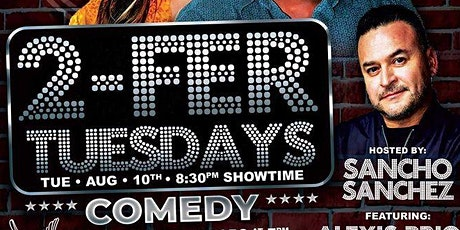 """""""2-Fer Tuesdays"""" Comedy at The Harbor in DTLB presented by Sancho Comedy tickets"""