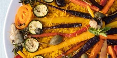 A Taste of Spain on Your Plate (Vegan Cooking & Wine Pairing Class) tickets