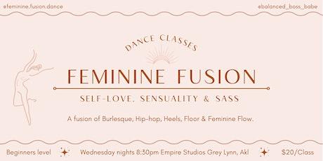 Feminine Fusion Dance Classes Auckland tickets