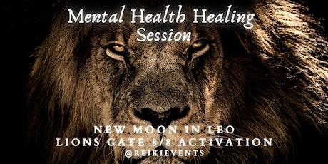Mental Health Healing: New Moon Circle (Lions Gate Portal) tickets