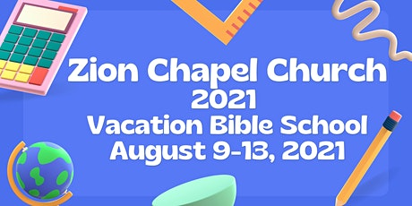 2021 Zion Chapel COCHUSA Virtual Vacation Bible School tickets