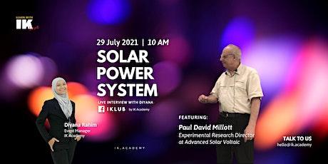 Solar Power System! tickets