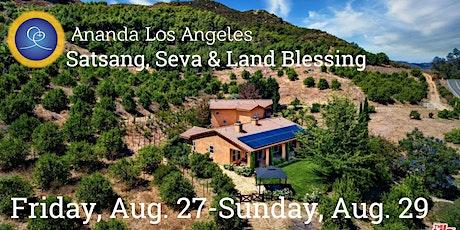 Satsang, Seva, & Arati - Ananda LA tickets