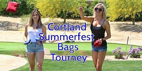 Cortland Summer Festival Bags Tournament tickets