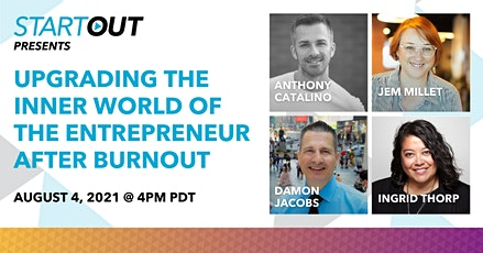 Upgrading the Inner World of the Entrepreneur after Burnout tickets
