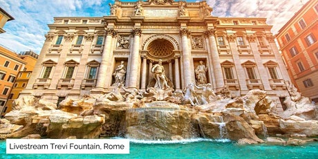 Trevi Fountain, Spanish Steps & More ! Livestream Tour from Rome with Luca tickets