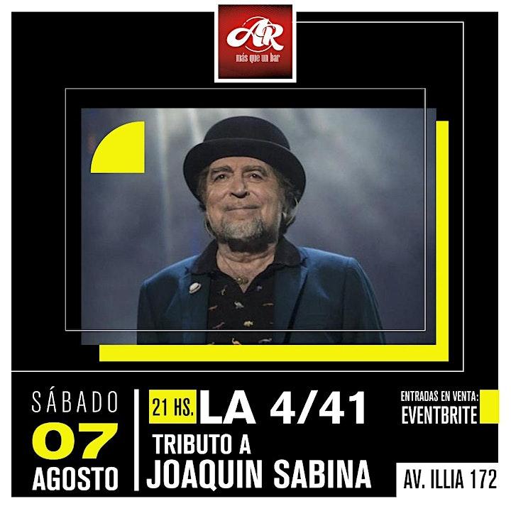 Imagen de Tributo a Joaquín Sabina