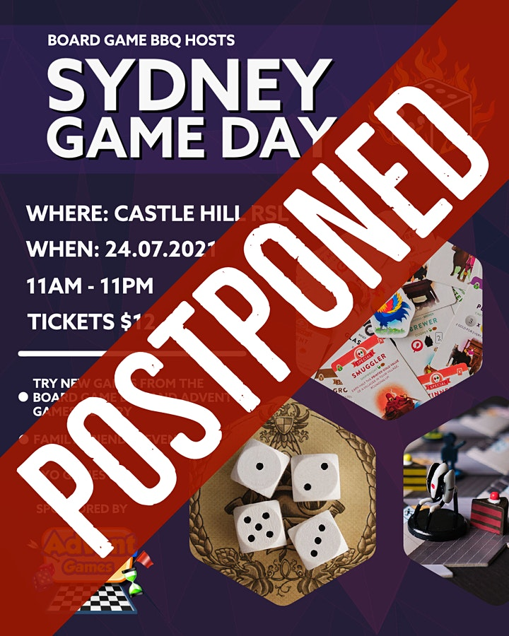 Board Game BBQ Sydney Game Day #2 image