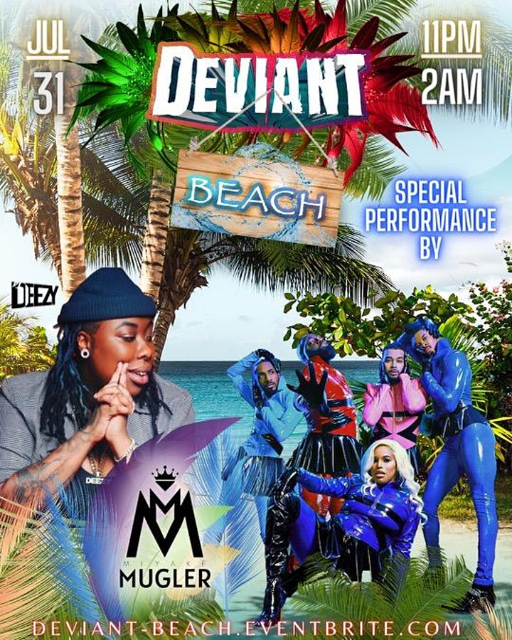 "Deviant NYC ""BEACH"" image"