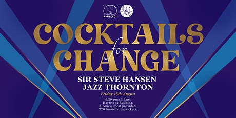 Cocktails for Change tickets