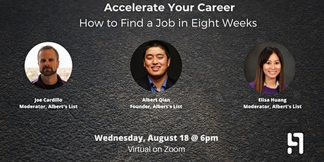 How to Find a Bay Area Tech Job in Eight Weeks tickets