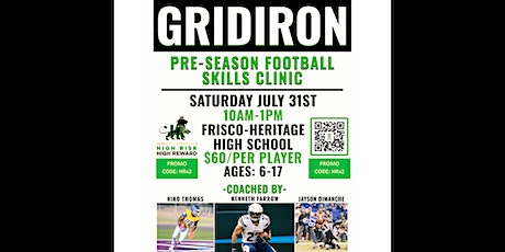Pre-Season Skills and Competition Football Camp tickets