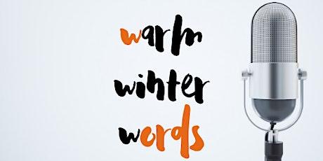 Warm Winter Words PODCAST tickets