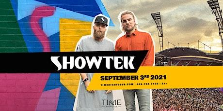 Showtek tickets