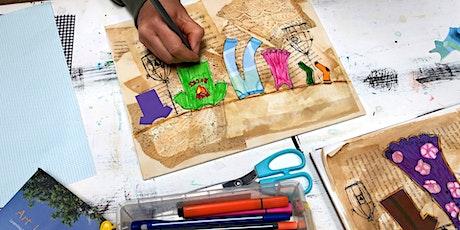 ART @ HOME! Mixed Media Journaling Tickets