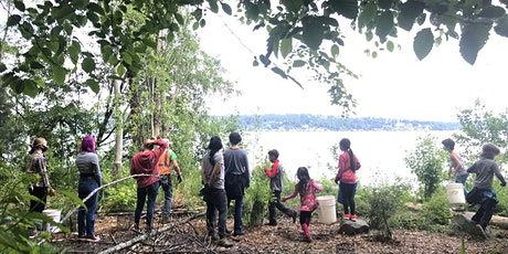 Stewardship Squad -  N. Magnuson Park , Lake Washington *swimming* tickets