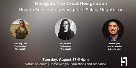 How to Successfully Navigate a Salary Negotiation tickets
