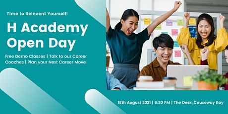 H Academy Open Day tickets