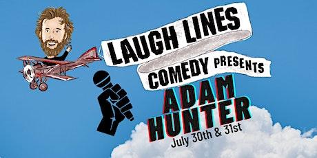 Laugh Lines Comedy Presents Adam Hunter (Saturday 2nd Show) tickets
