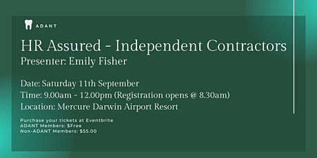 HR Assured - Independent Contractors tickets