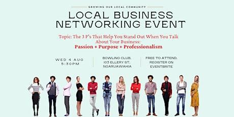 Ngaruawahia Local Business Networking tickets
