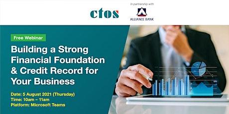 CTOS x Alliance Bank: Financial Literacy tickets