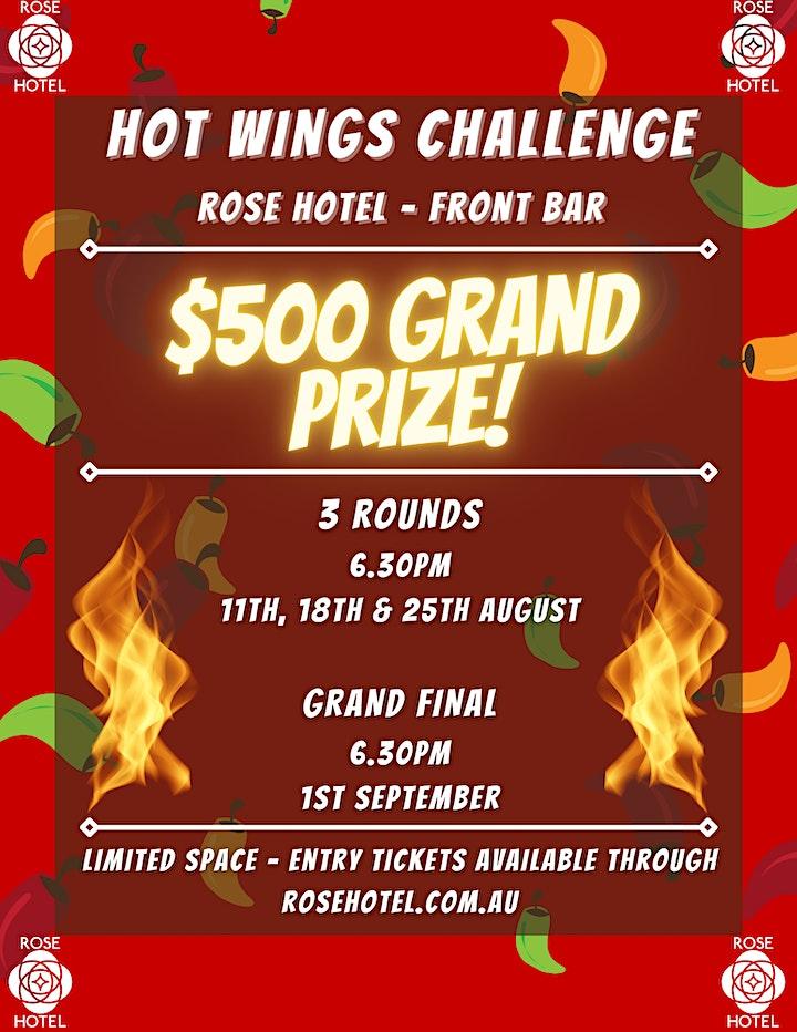Hot Wings Challenge image