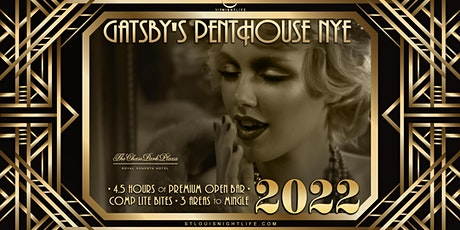 St. Louis New Year's Eve Party 2022 - Gatsby's Penthouse tickets