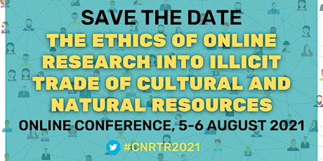 Ethics of online research into illicit trade of cultural &natural resources tickets