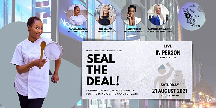 Making Business Boss Moves - Seal the deal! image