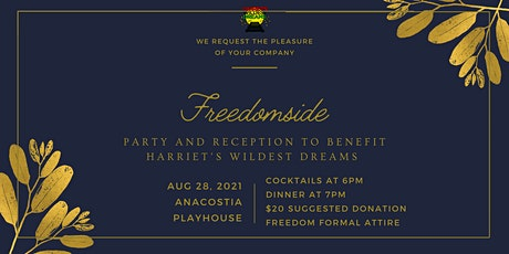 Freedomside: Party & Reception for Harriet's Wildest Dreams tickets