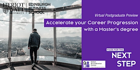 Virtual PG Preview - Accelerate your Career Progression with a Master's tickets