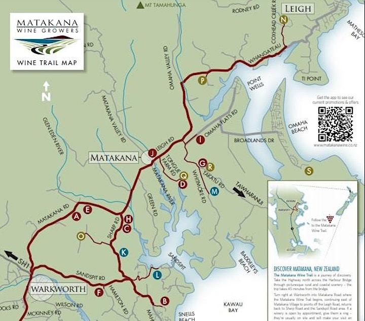 Matakana Winegrowers Series Degustation Dinner image