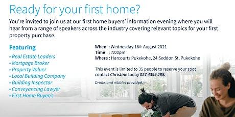 First Home Buyer Evening tickets